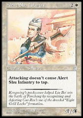Alert Shu Infantry on Channel Fireball