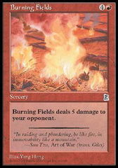 Burning Fields on Channel Fireball