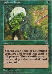 Sylvan Tutor on Channel Fireball