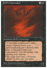 Hell's Caretaker on Channel Fireball