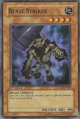Beast Striker - RGBT-EN085 - Super Rare - 1st Edition