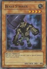 Beast Striker - RGBT-EN085 - Super Rare - 1st Edition on Channel Fireball