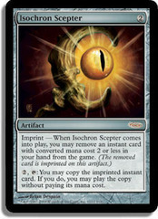 Isochron Scepter (FNM Foil) on Channel Fireball