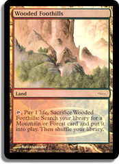 Wooded Foothills (Judge Foil) on Channel Fireball