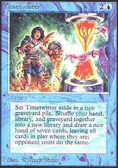 Timetwister (Not Tournament Legal) on Channel Fireball