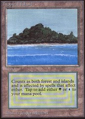 Tropical Island (Not Tournament Legal) on Channel Fireball