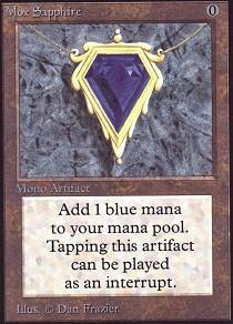 Mox Sapphire (Not Tournament Legal)