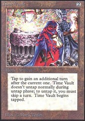 Time Vault (Not Tournament Legal) on Channel Fireball