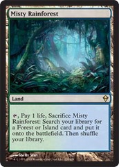 Misty Rainforest on Channel Fireball