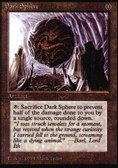Dark Sphere on Channel Fireball