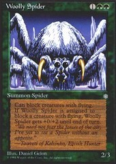 Woolly Spider on Ideal808