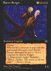Baron Sengir on Channel Fireball