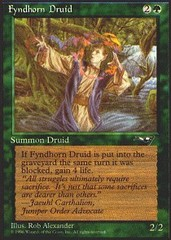 Fyndhorn Druid (Facing Left)