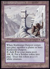 Kjeldoran Outpost on Channel Fireball