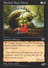 Barbed-Back Wurm on Channel Fireball