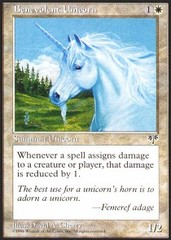Benevolent Unicorn on Channel Fireball