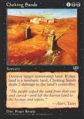 Choking Sands