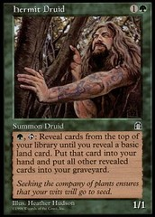 Hermit Druid on Channel Fireball