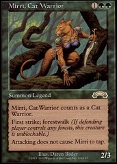 Mirri, Cat Warrior on Channel Fireball
