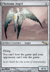 Platinum Angel on Channel Fireball