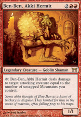 Ben-Ben, Akki Hermit on Channel Fireball