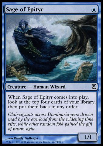 Sage of Epityr