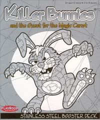 Killer Bunnies and the Quest for the Magic Carrot Stainless STEEL Booster