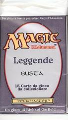 Italian Legends Booster Pack on Channel Fireball
