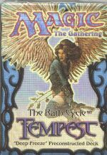 Tempest Deep Freeze Precon Theme Deck