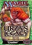 Urza's Legacy Crusher Precon Theme Deck