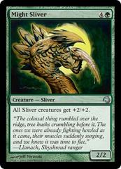 Might Sliver - Foil on Channel Fireball