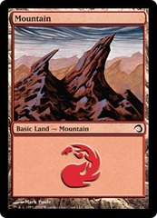 Mountain - Foil on Channel Fireball