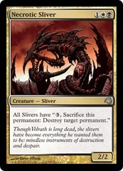 Necrotic Sliver - Foil on Channel Fireball