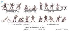 Finnish Artillery Group - Special Order