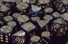 Lustrous Shadow / Gold 7 Dice Set - CHX27499