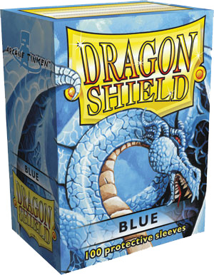 Dragon Shield Classic Sleeves - Blue - 100ct