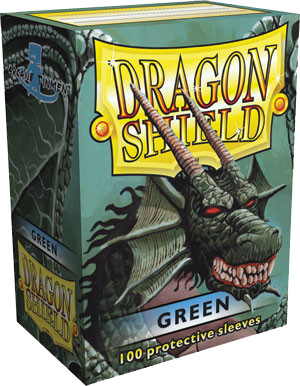 Dragon Shield Classic Sleeves - Green - 100ct