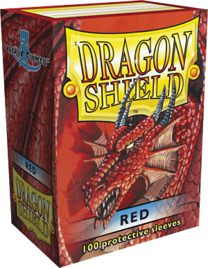 Dragon Shield Classic Sleeves - Red - 100ct