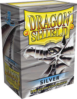 Dragon Shield Classic Sleeves - Silver - 100ct