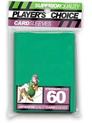 Player's Choice Standard Green Sleeves (60 ct.) on Channel Fireball