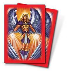 Angel Red Standard Deck Protectors by Monte Moore 50ct