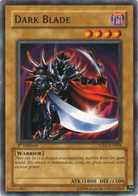 Dark Blade - 5DS1-EN004 - Common - 1st Edition