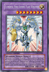 Elemental Hero Shining Flare Wingman - CT03-EN004 - Secret Rare - Limited Edition