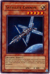 Satellite Cannon - CP01-EN001 - Ultra Rare - Promo Edition