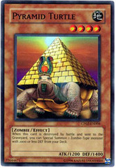 Pyramid Turtle - CP02-EN004 - Super Rare - Promo Edition on Channel Fireball