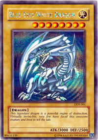 Blue-Eyes White Dragon - DDS-001 - Secret Rare - Promo Edition