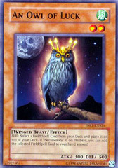 An Owl of Luck - DR1-EN021 - Common - Unlimited Edition