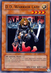 D.D. Warrior Lady - DR1-EN189 - Super Rare - Unlimited Edition