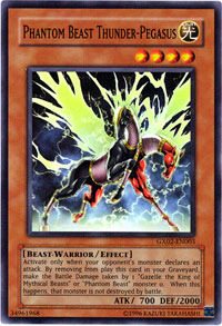 Phantom Beast Thunder-Pegasus - GX02-EN003 - Super Rare - Promo Edition