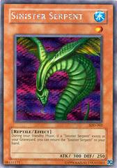 Sinister Serpent - SDD-002 - Secret Rare - Promo Edition on Channel Fireball